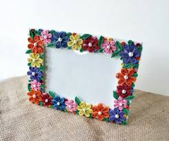 Quilling Home Decor Diy Paper Quilled Photo Frame 6 Steps With Pictures