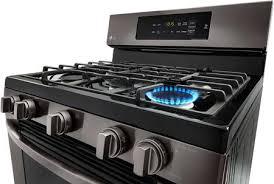 black stainless gas cooktop. Wonderful Black LG Black Stainless Steel Burner Detail To Gas Cooktop B