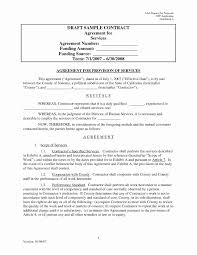 Service Agreement 24 Best Of Simple Business Contract Template Daphnemaia 20