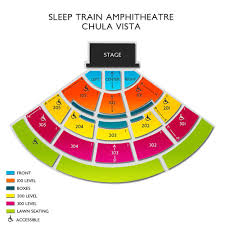 Cricket Amphitheatre Seating Chart Mattress Firm Amphitheatre Tickets