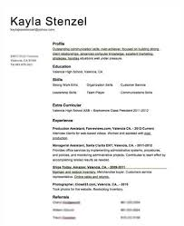 Resume With Volunteer Experience Source