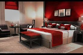 red and brown bedroom ideas photo - 1