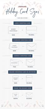 Card Size Chart Christmas Card Sizes For Every Holiday Need Shutterfly