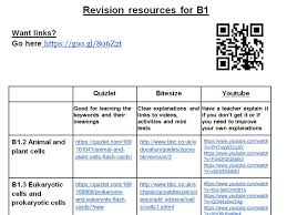 aqa 9 1 b1 topic cells and transport