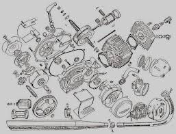 casal parts  myrons mopeds casal m140 engine exploded view