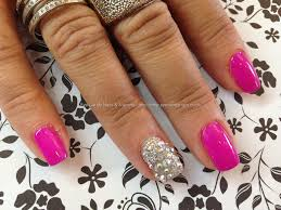 Eye Candy Nails & Training - Gel 50 with Swarovski crystals on ...
