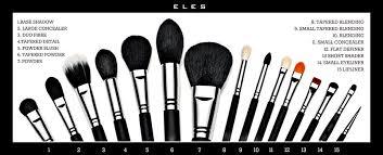 eles cosmetics mineral makeup australia makeup brush set and holder