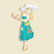 Lillie from #Pokemon Sun and Moon | Pokemon sun, Pokemon, Pokemon characters