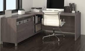 modern office credenza. Attractive And Enduring Office Credenza: Credenza Desk With Modern Chair Also Laminate Dark