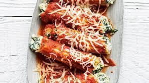 spinach and cheese manicotti recipe