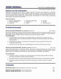 Medical Billing Resume Samples Medical Coding Resume Samples Inspirational Example Medical Billing 1
