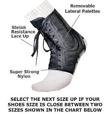 Bestseller Ankle Brace Support Lace Up By Xforce Free