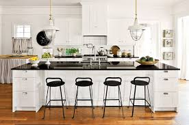 white and black kitchen decor. Interesting Kitchen View In Gallery Farmhouse Style Kitchen Black And White Inside White And Black Kitchen Decor K