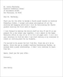 Job Offer Email Sample Letter Template And Salary