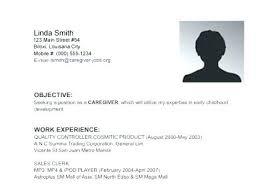 Caregiver Resume Examples Caregiver Resume Sample My Perfect Resumes
