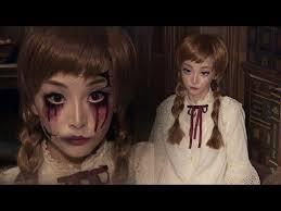 04 49 vine doll broken doll makeup