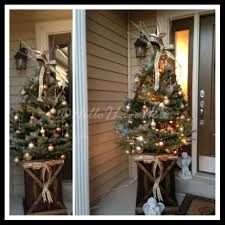 Rustic Christmas Ornaments Rustic Christmas Tree Display Archives Helloi Live Here