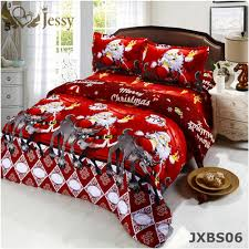 jessy home merry bedding set duvet comforter cover twin queen size 4pcs deer bed set in bedding sets from home garden on