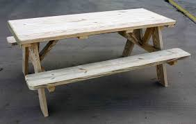 large size of long picnic bench this 6 ft picnic table is made of long lasting