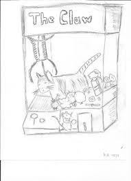 karen s claw machine drawing piggy and melvin for piggy s book claw machine claws