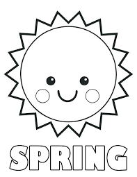 Free Printable Spring Coloring Pages For Preschoolers Coloring