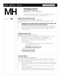 Public Relations Resume Best Pr Resumes Resume Examples Skills 7 Best Public Relations Pr
