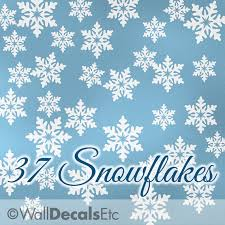 snowflake wall decals beautiful on small home decoration ideas with snowflake wall decals