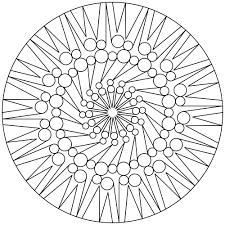 Free Printable Mandala Coloring Pages Mandala