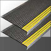 exterior stair treads and nosings. sightline high visibility exterior stair treads and nosings s