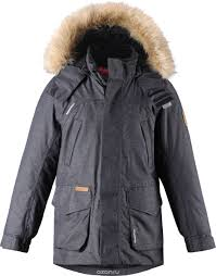 Куртка детская Reima Reimatec Ugra, цвет: серый. 5313759510 ...