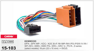 online get cheap kenwood wiring harness aliexpress com alibaba carav 15 103 top quality car iso harness for kenwood dpx dpx mp kdc kdc stereo radio wire adapter wiring connector cable