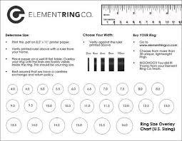 Ring Sizing Ring Sizing Chart Finger Symbolism Element