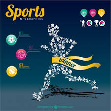 Sports Infographic Template Sports Infographic Champion Template Vector Free Download