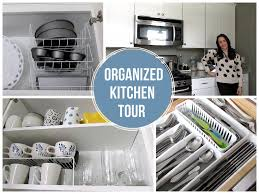 To Organize Kitchen Organized Kitchen Tour On A Budget Favorite Organized Space