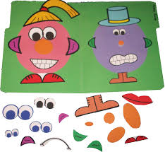 Click Here To Download The Funny Faces File Folder Game For Free Free Printable Folder Games For ToddlerslllL