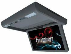 7 digital touch screen panel one din in dash dvd cd player am farenheit md 1560cmm ceiling mount 15 6 inch motorized monitor dvd by farenheit