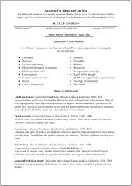 automotive s resume cover letter car s executive cv happytom co