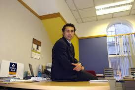 seán Óg working in ulster bank