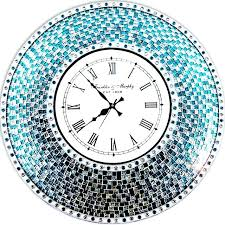 white wall clocks uk clocks remarkable blue kitchen wall clocks blue wall clock white and blue