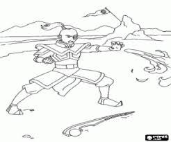 Kleurplaten Avatar De Legende Van Aang Kleurplaat 2
