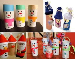 Creative Ideas - 25 Simple Cute Toilet Paper Roll Christmas Crafts