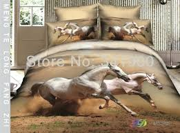 horse bedding sets horse benma bedding set 4pcs 3d horseduvet cover bedspread horse duvet cover single
