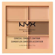 <b>Палетка</b> для коррекции лица <b>NYX Professional Makeup</b> 3C Palette ...