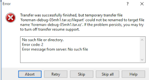 Linux Winscp Successfully Uploads To A Cifs Automount But Fails On