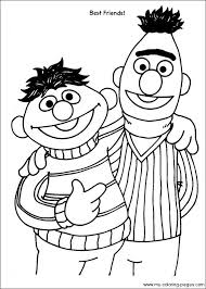 Sesame Street Color Pages Funycoloring