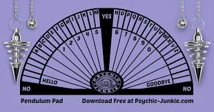 Dowsing Chart For Lottery How To Do Pendulum Scrying To Get Helpful Guidance