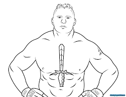 Archaicawful Romanns Coloring Sheets Wwe Pages For Kids Colouring