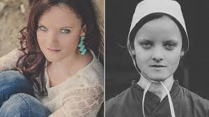 Of amish woman teen found