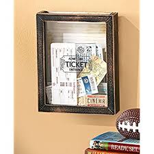 Memento Wall Storage Boxes. 3 Design Choices. Wall Memory Boxes (Tickets)