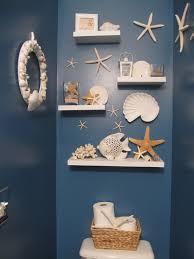 Bathroom Beach Accessories White Nautical Beach Shelf Bathroom Shelf Beach Crate Shelf